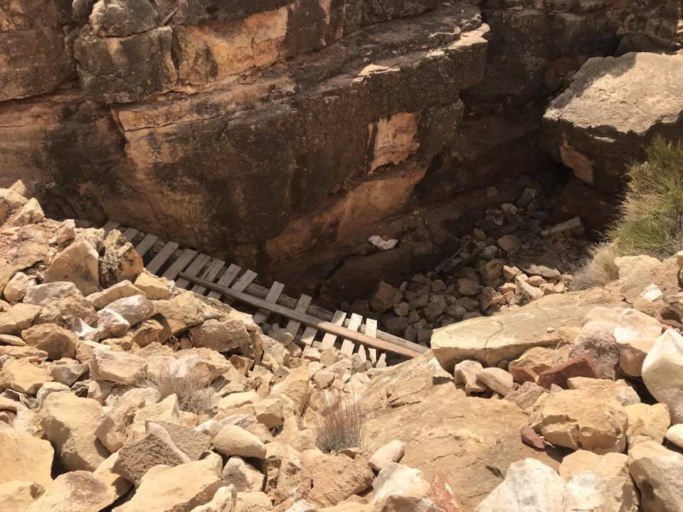 Inside Apache Death Cave