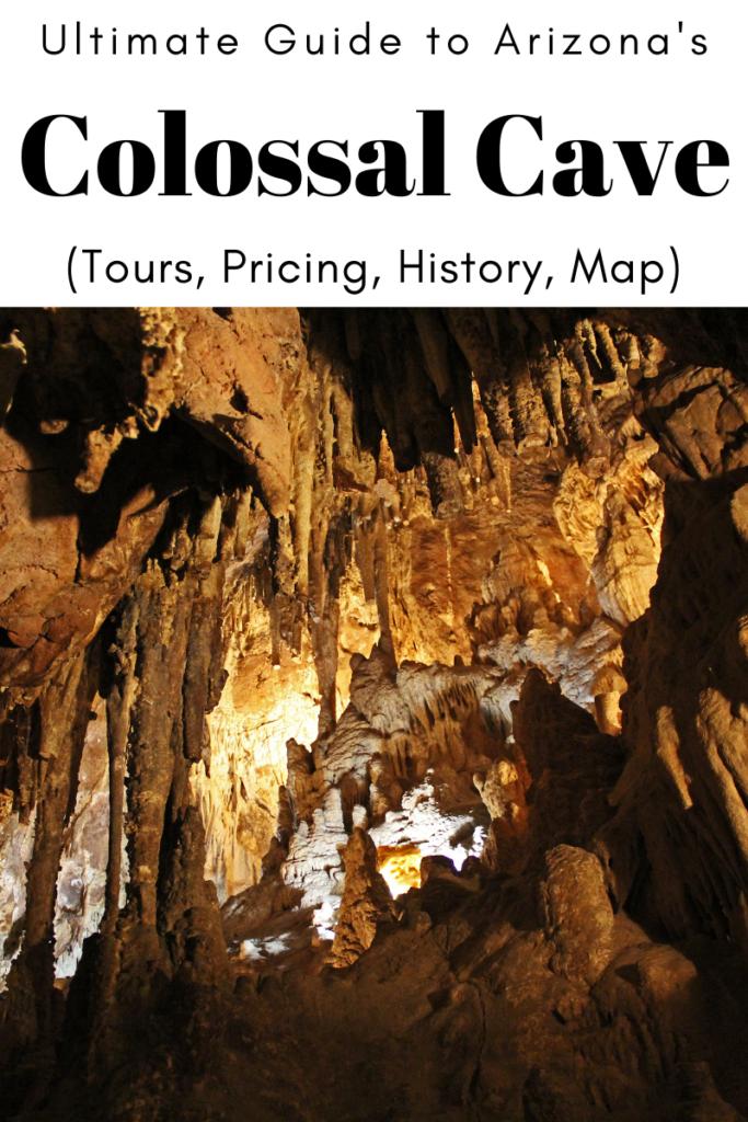colossal cave arizona cave tour