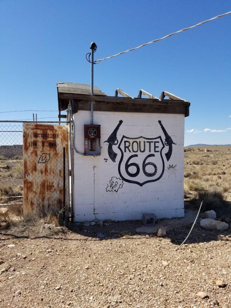 Route 66 Gas Station Apache Death Cave