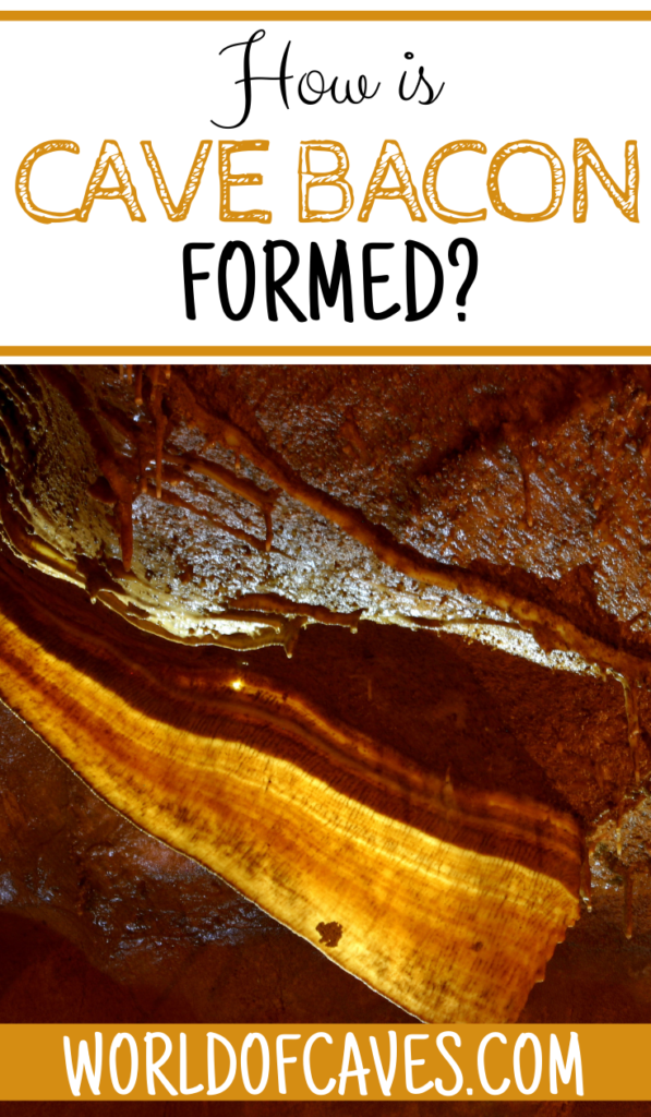 How is Cave Bacon Formed?