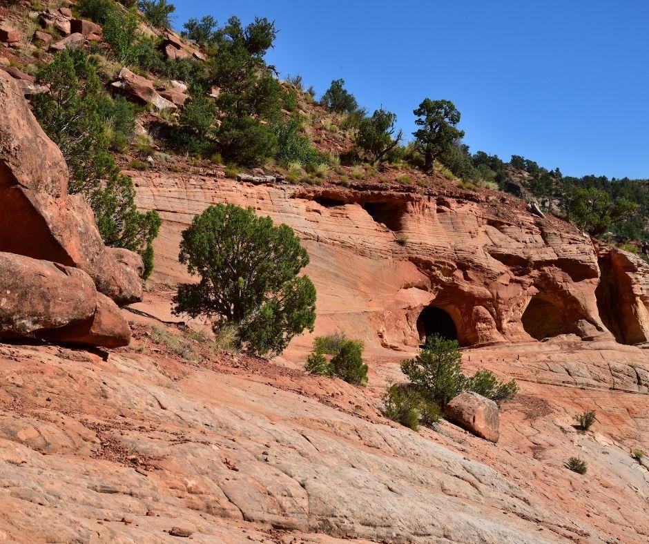 Sand Caves in Utah
