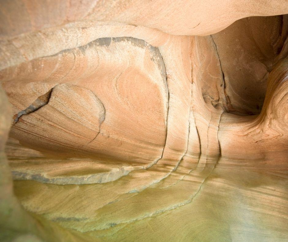 Wind Caves in Utah